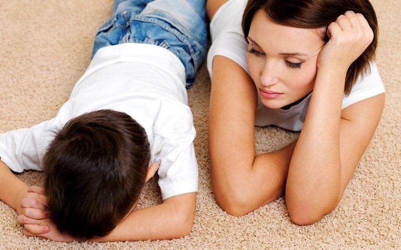Сексуальные чувства над материнскими